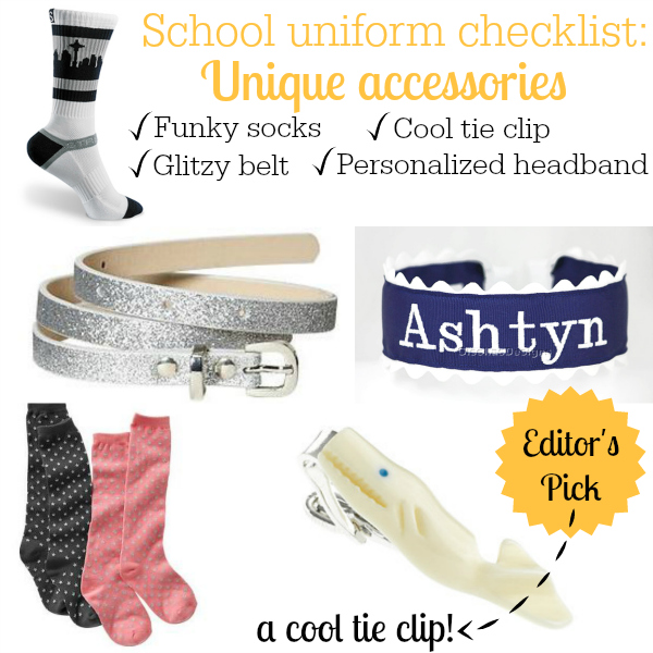 School Uniform Accessories