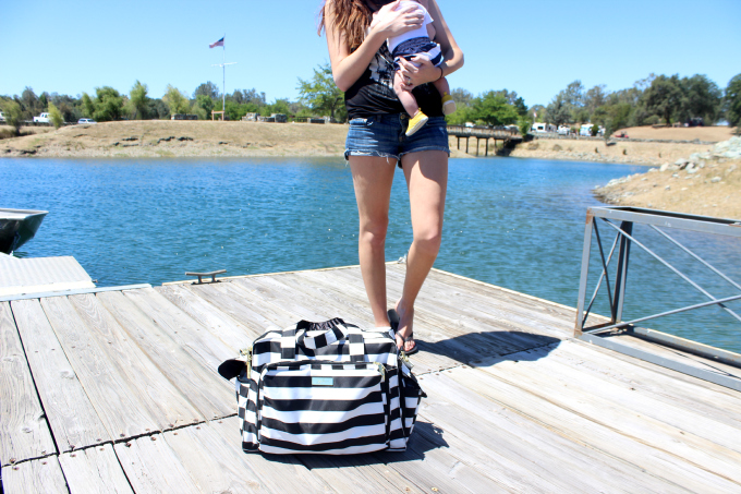 diaper bag on the go