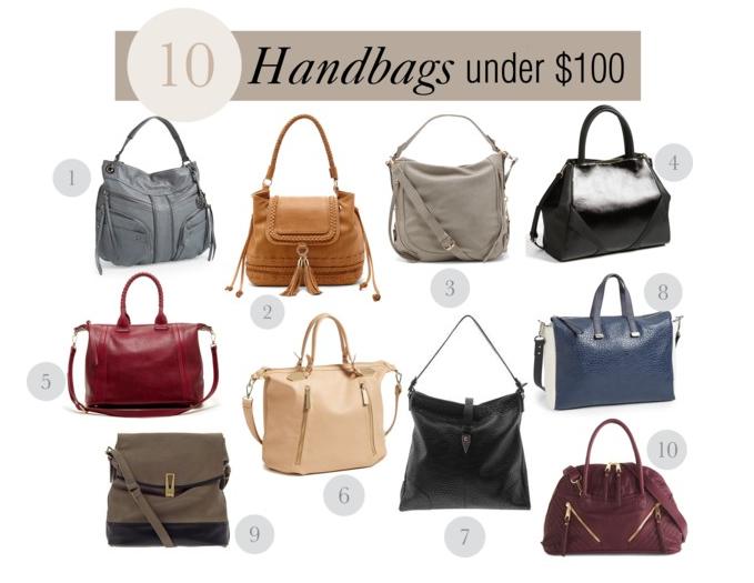 10 Fall Handbags Under $100