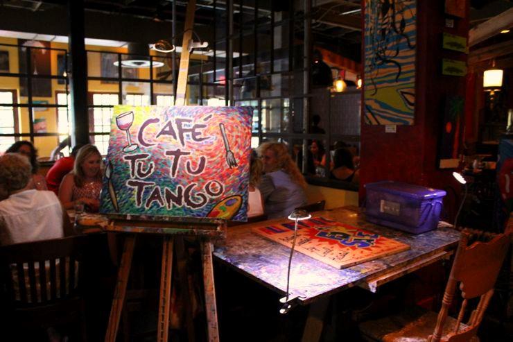 Cafe Tu Tu Tango Orlando Florida