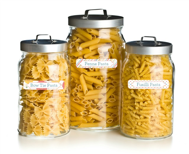 Canister Pantry Labels by Mabels Labels