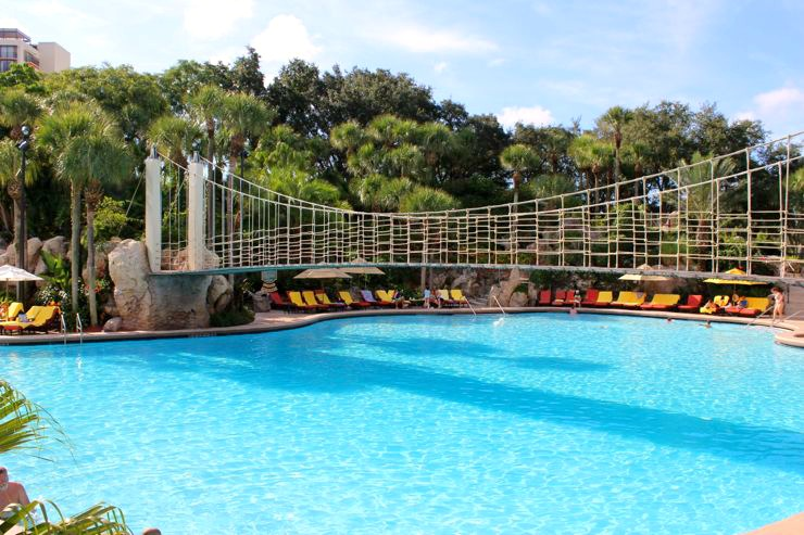 Hyatt Regency Pool with Bridge Orlando