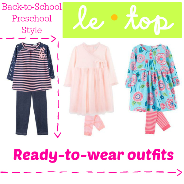 Le Top Back-to-School Preschool Style for Girls