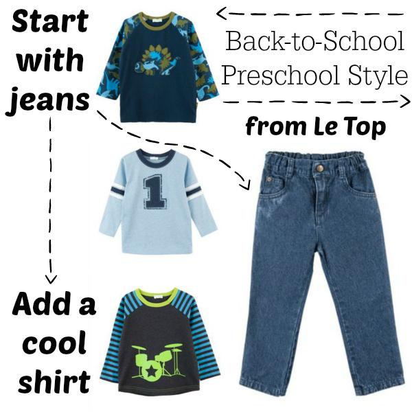 Le Top Preschool Style for Boys