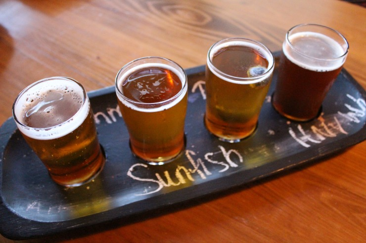Sea Dog Brewing Company Beer Flights