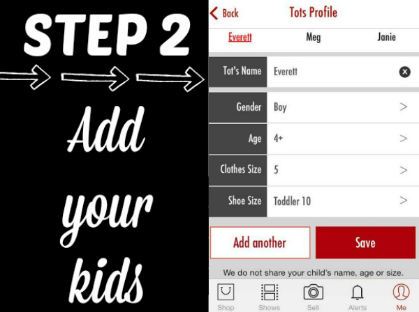 TotSpot Add Your Kids