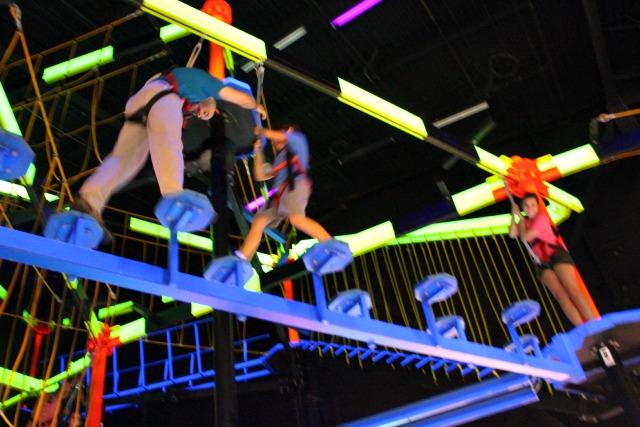 WonderWorks Neon Ropes Course