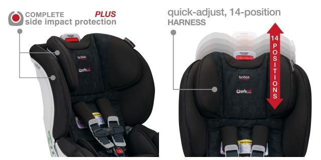 Britax ClickTight Convertible Car Seat Safety