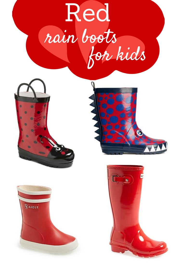 rain boots for kids - Savvy Sassy Moms