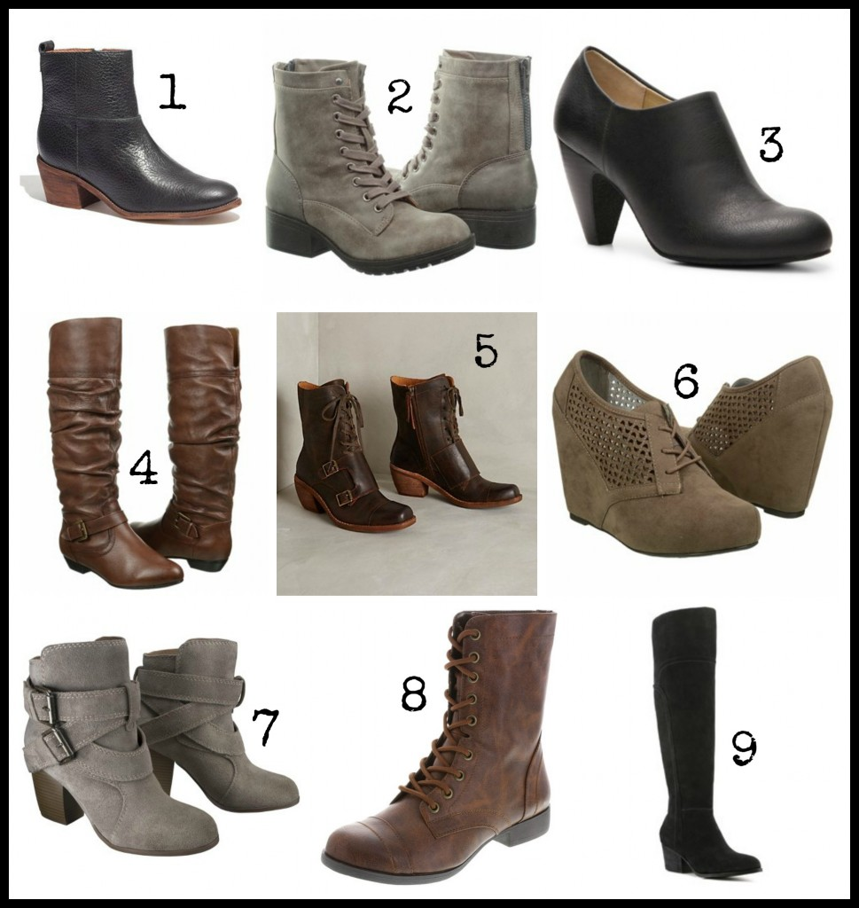 boot styles for fall