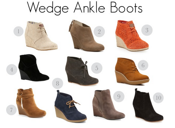 Wedge Ankle Boots for Fall