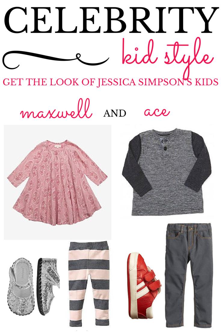 Celebrity Kid Style Jessica Simpson