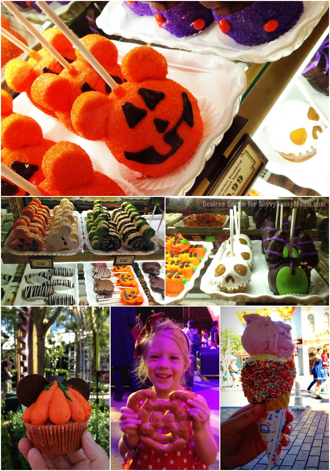 Disneyland Halloween Time Sweets and Treats