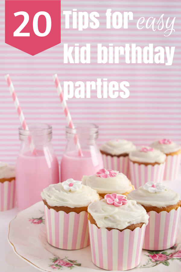 Kid Birthday Party Tips