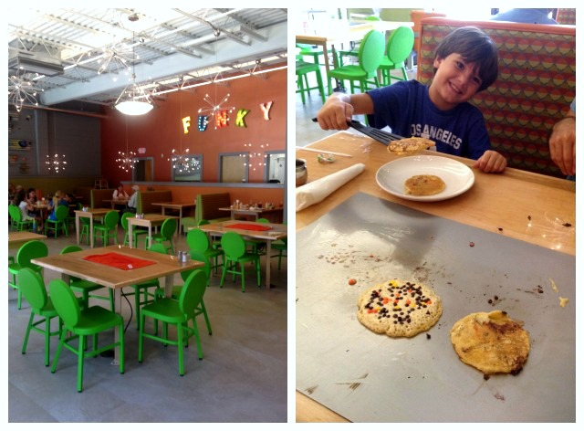 Funky Brunch Cafe where to eat with kids in Savannah