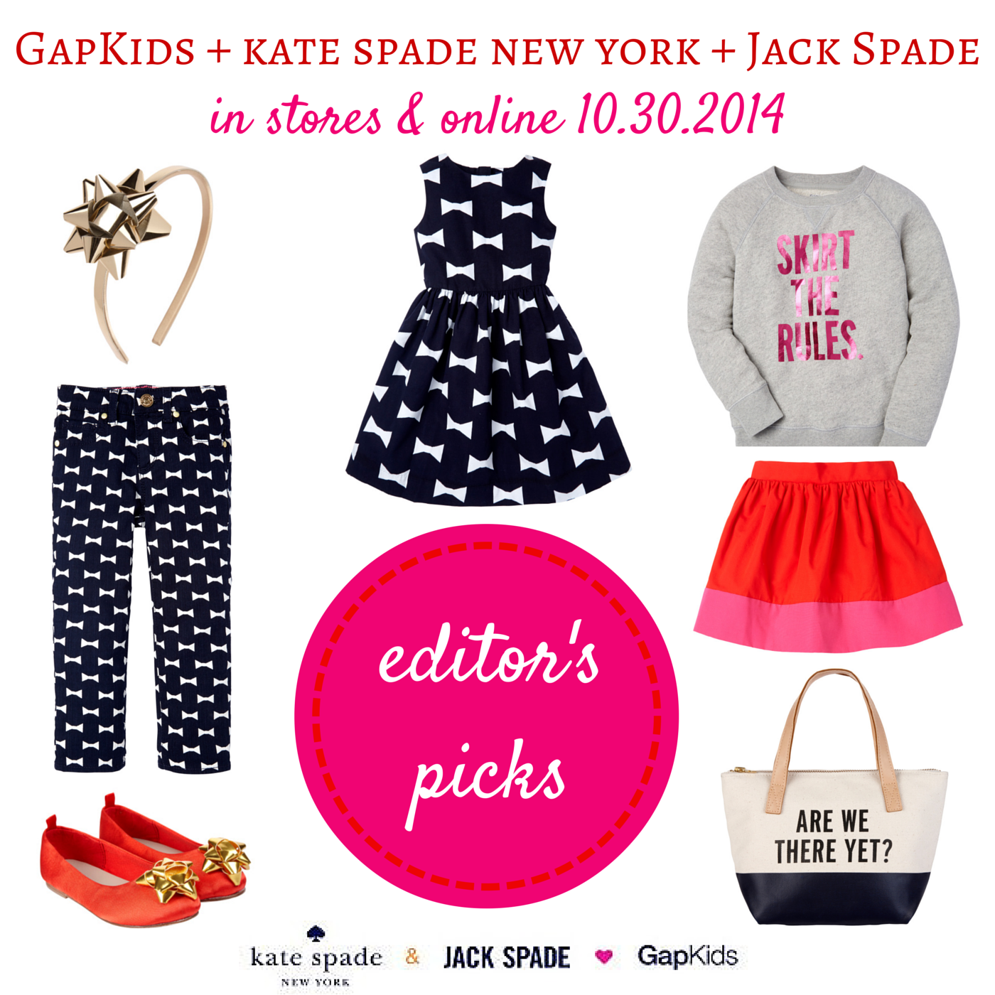 GapKids and kate spade new york for girls