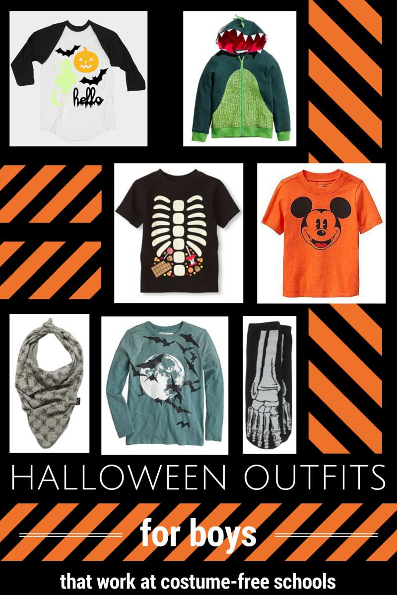 Halloween Styles for Boys
