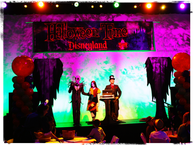 Halloween Time at Disneyland Media Reception with Jack and Sally