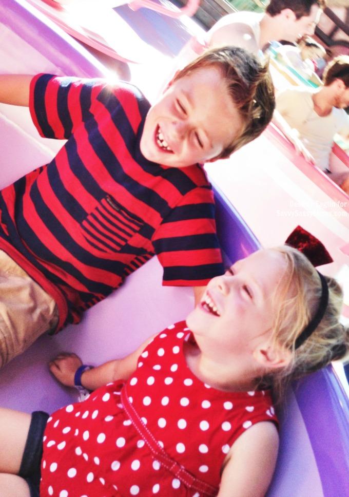 Happy Kids at Disneyland