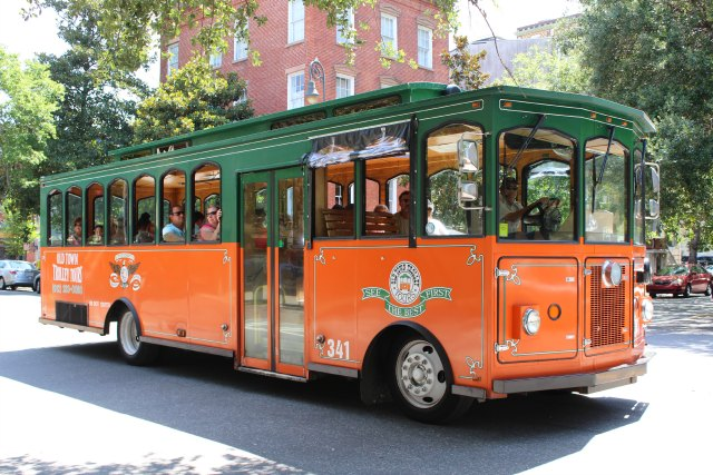 Savannah Old Town Trolley Tours
