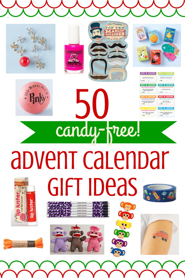 Advent Calendar Ideas Not Chocolate : Ideas for candy free advent calendar gifts savvy