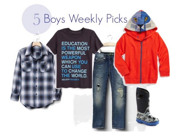 Boys Stylish Weekly Picks Savvy Sassy Moms