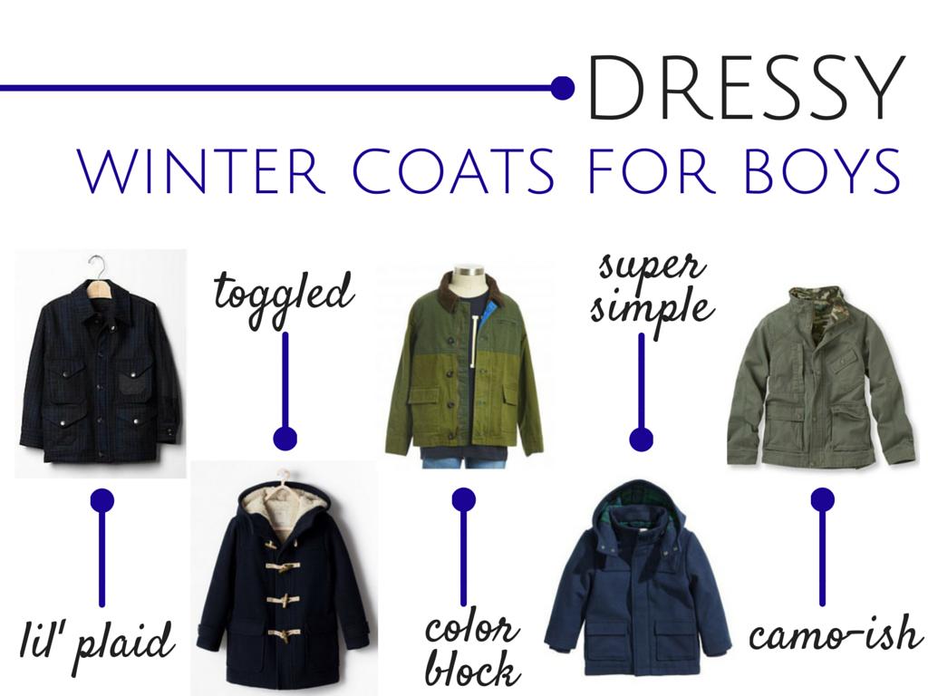 Dressy Winter Coats for Boys