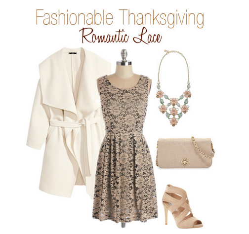 Fashionable Thanksgiving Romantic Lace