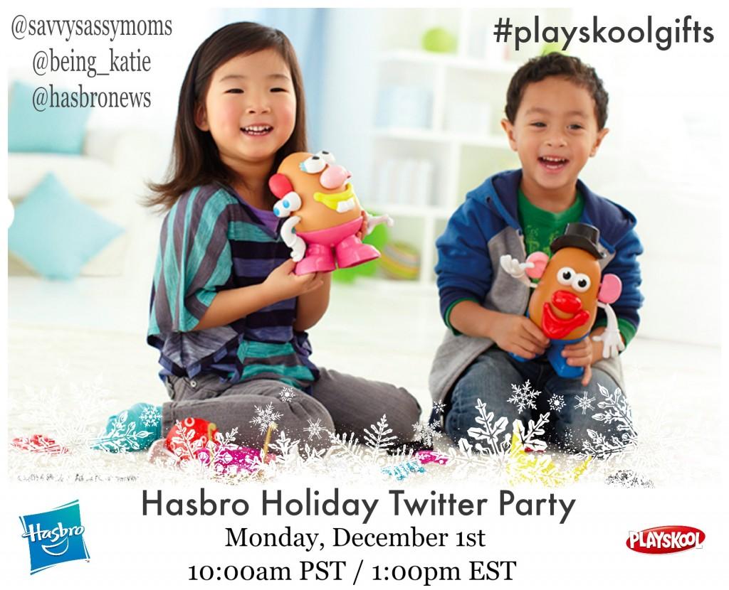 Hasbro Playskool Gifts Twitter Party