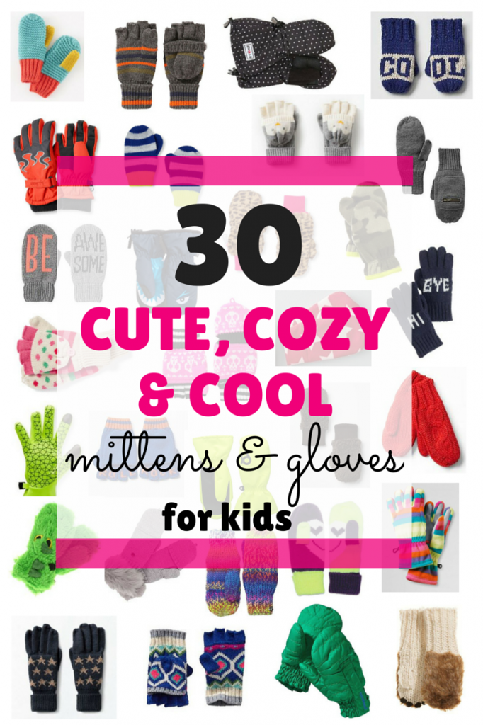 Kids Mittens & Gloves