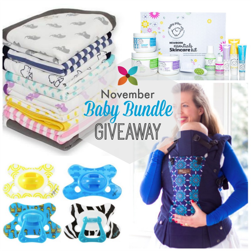 November Baby Bundle Giveaway on Savvy Sassy Moms