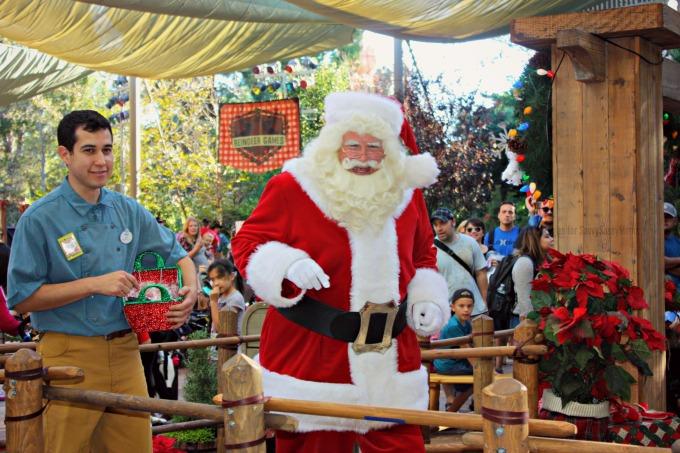 Santa Claus at Jingle Jangle Jamboree