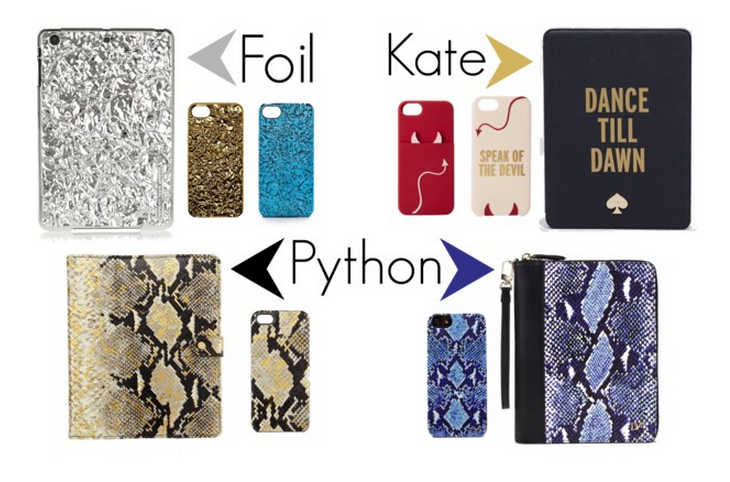 Tech Accessories kate Spade MARC Jacobs DVF cases