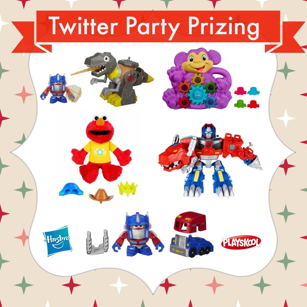 Twitter Party Prizing Hasbro Playskool