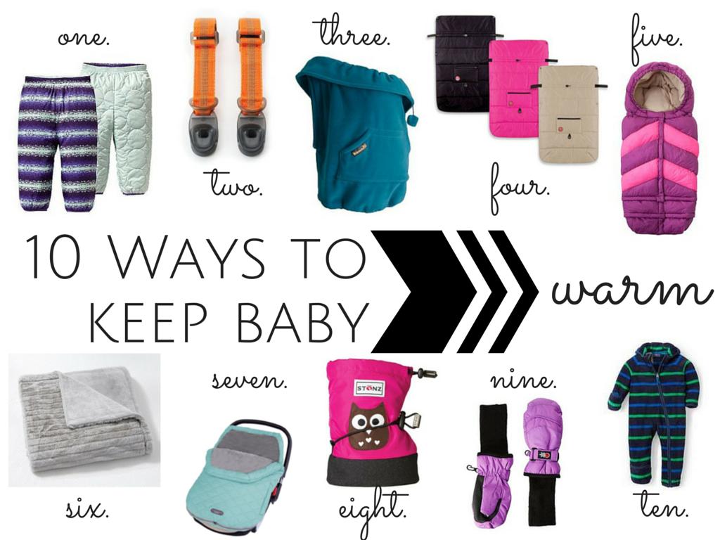 Keep baby warm