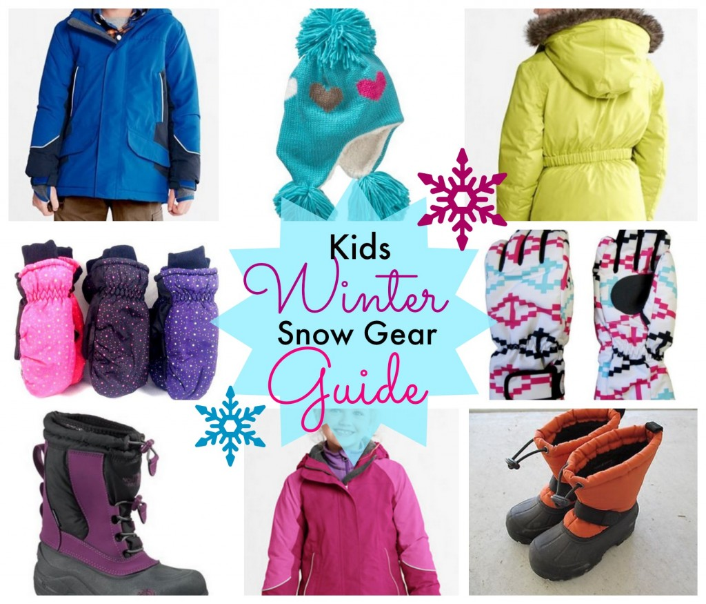 Kids Winter Snow Gear Guide eBay SSM