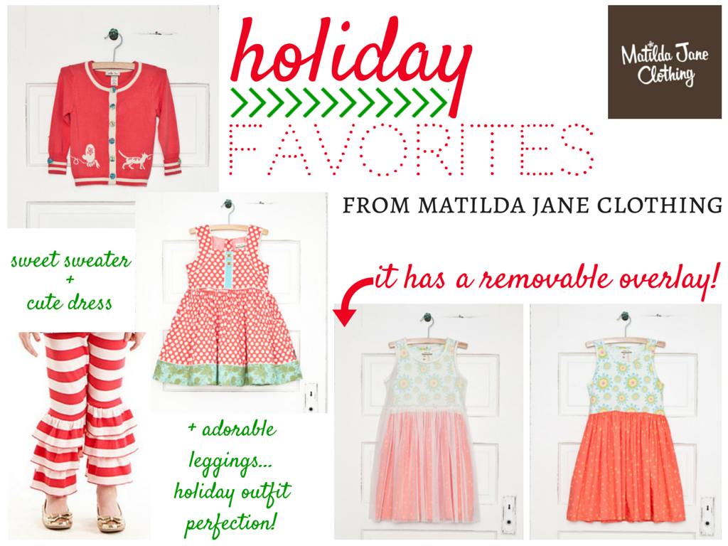 Matilda Jane Holiday Outfits