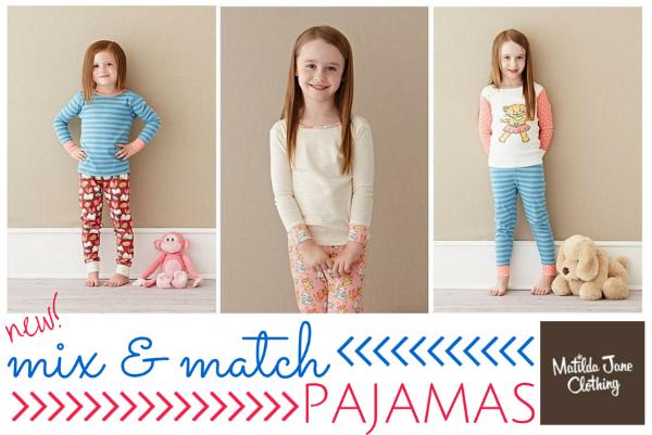 Matilda Jane Mix and Match Pajamas