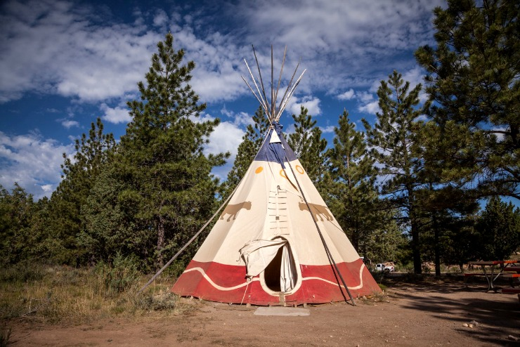 Rubys Inn Utah Camping in a Tipi Family Adventure 2015