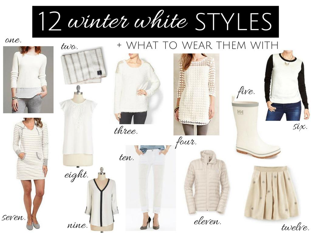 Winter White Styles
