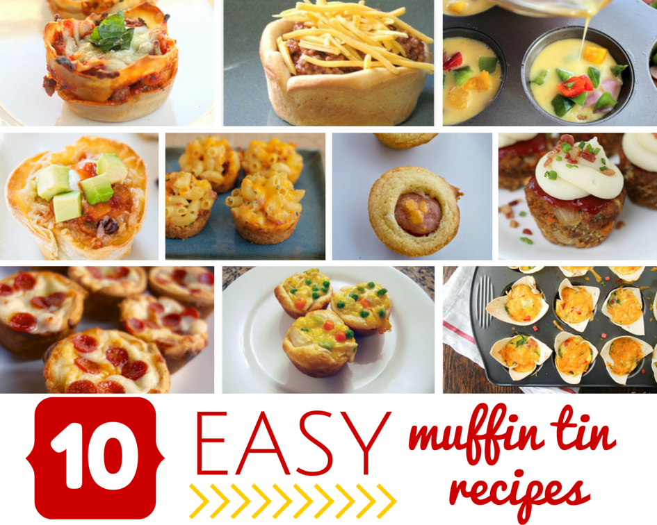 10 Easy Muffin Tin Recipes