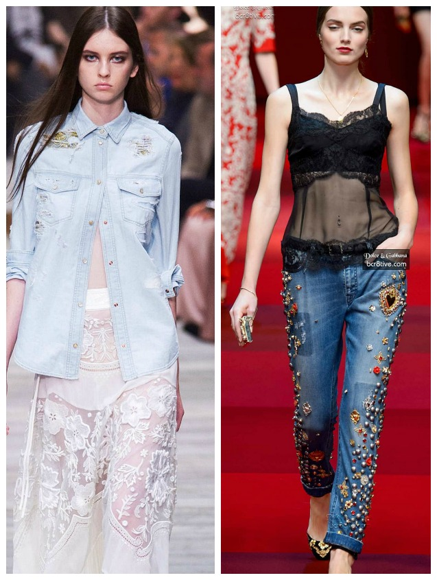 Denim Trends Spring 2015