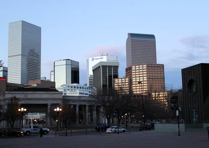 Downtown Denver Colorado Family Travel