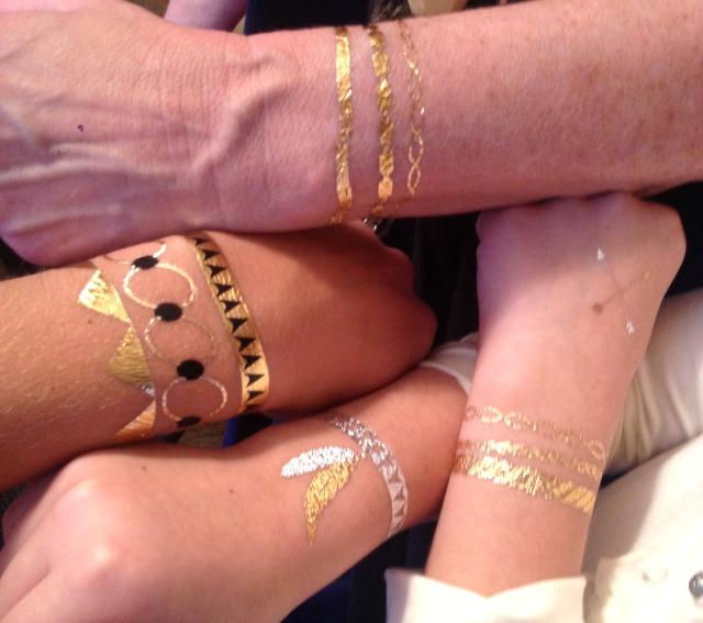 Hot Jewels Temporary Tattoo Accessories