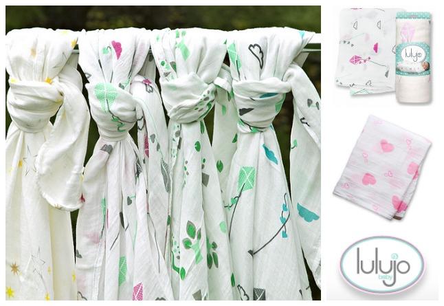 Lulujo Muslin Baby Blankets