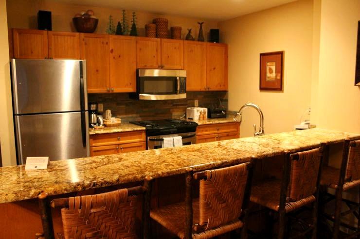 The Springs Condo Kitchen Keystone Colorado Vacation Rental