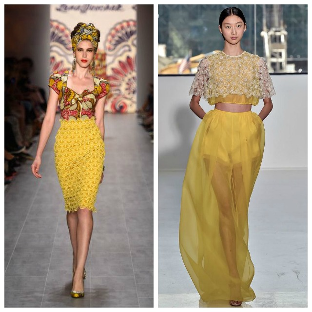 Yellow Spring Fashion Trends 2015