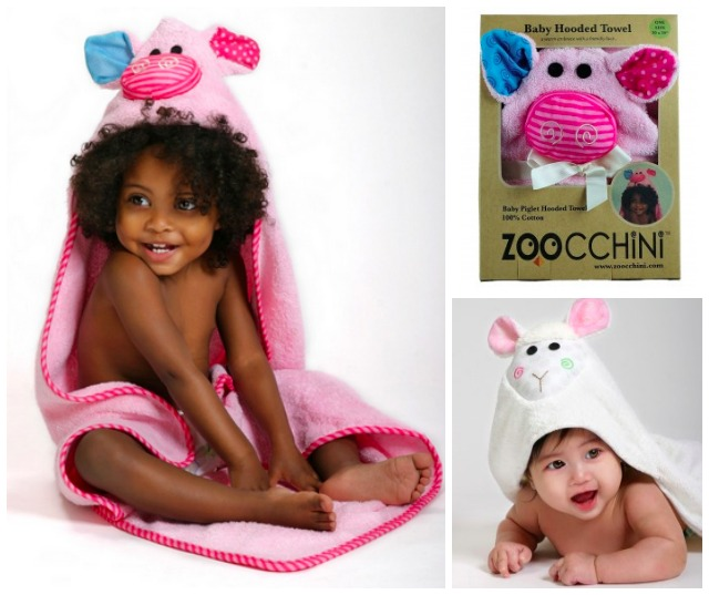 Zoocchini Hooded Towels for Baby and Kids