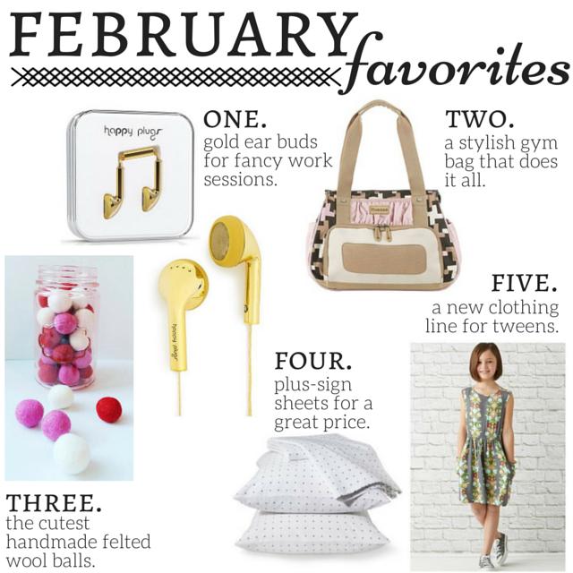 5 Favorite Picks for February