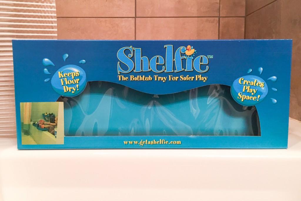 Bathtub Shelfie